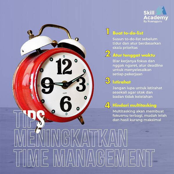 time management yang efektif